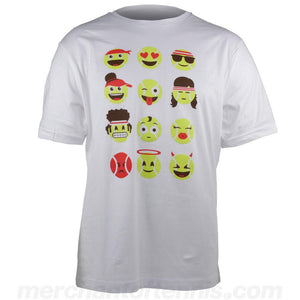 Merchant of Tennis Junior Performance Emoji Tee