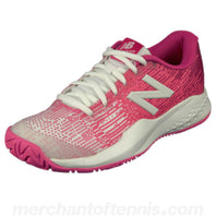 New Balance Junior KC996v3 Pink/White