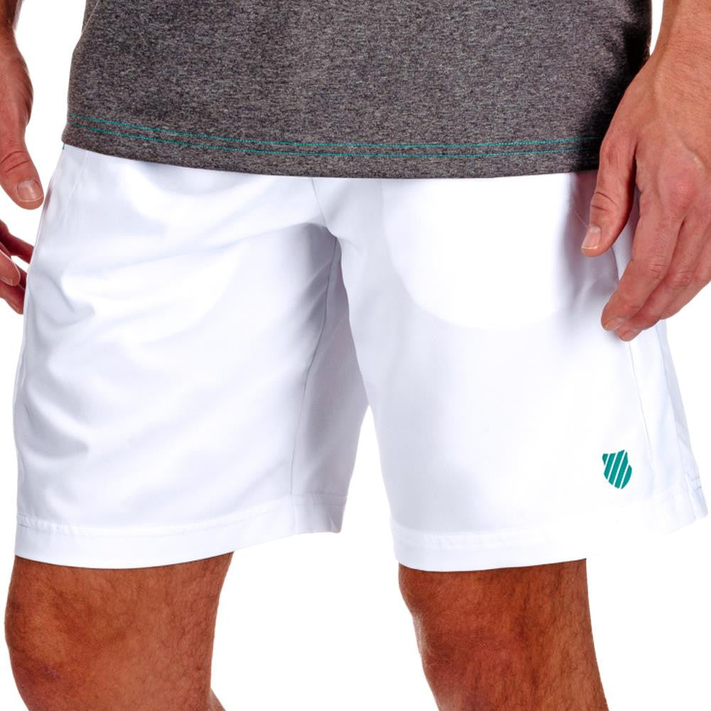 KSwiss Men's BB Practice Short White/Green