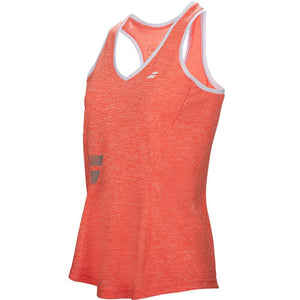 Babolat Girls Core Crop Tank Fluro Red
