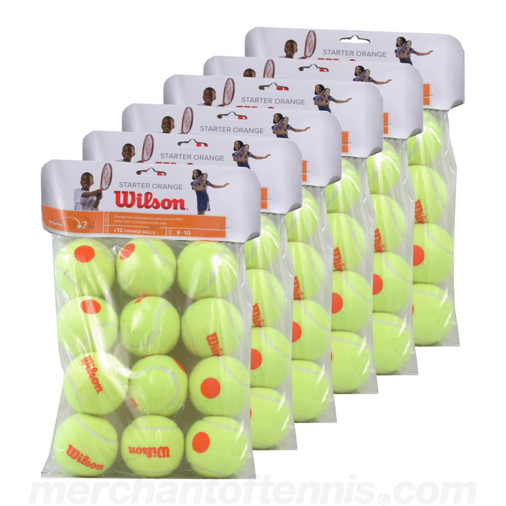 Wilson Starter Orange Tennis Ball Case