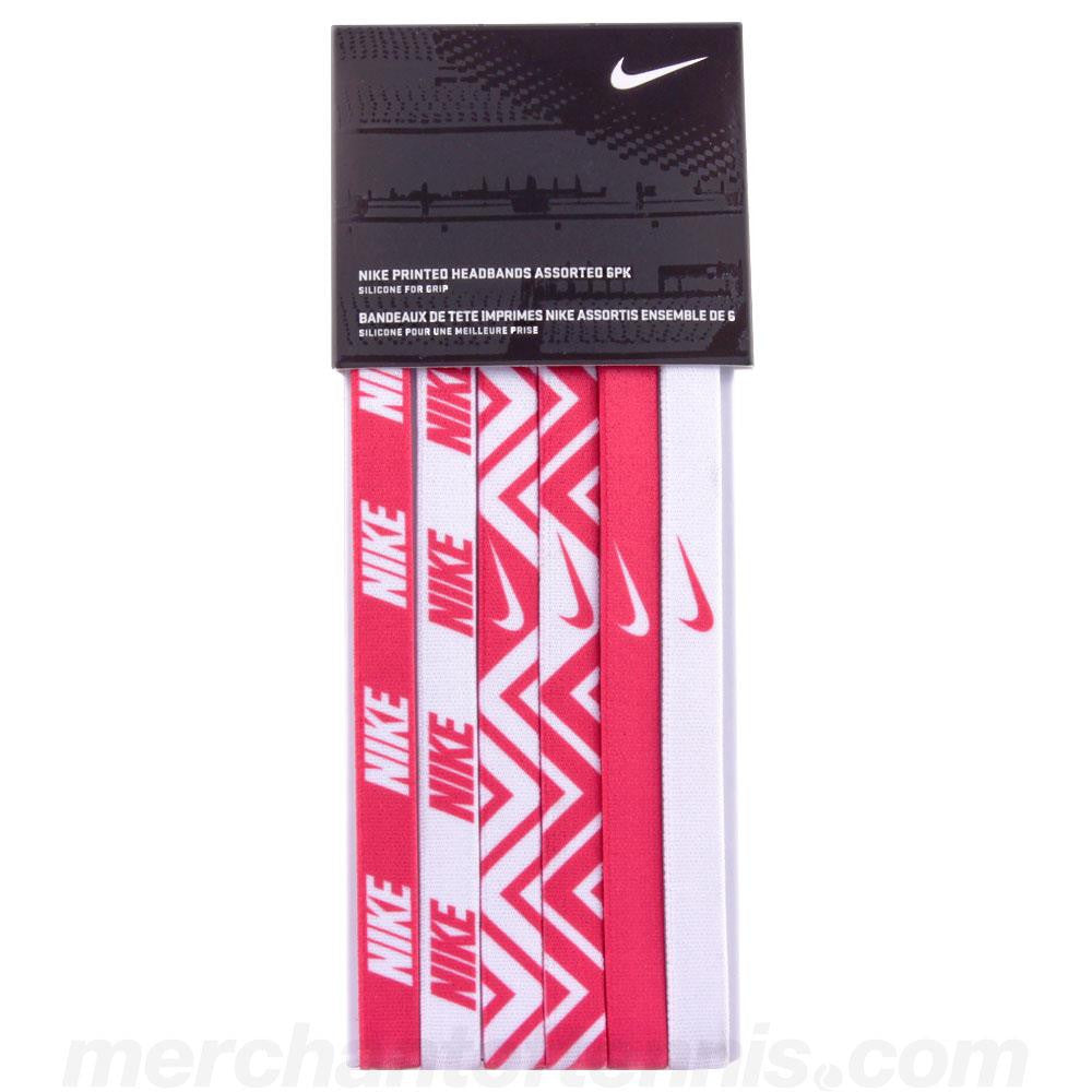 Nike Headbands 6 Pack Assorted