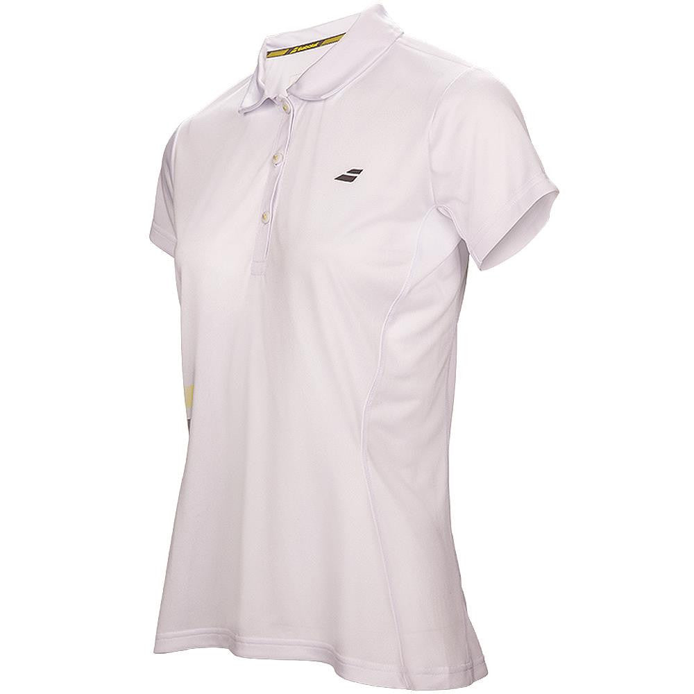 Babolat Women's Core Club Polo - White