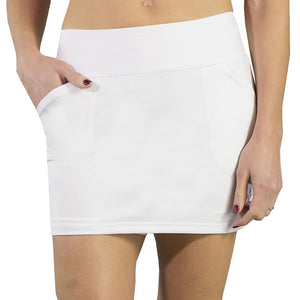 JoFit Women's Essential Mina Skort White