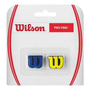 Wilson Pro Feel Dampener 2 Pack Blue/Yellow