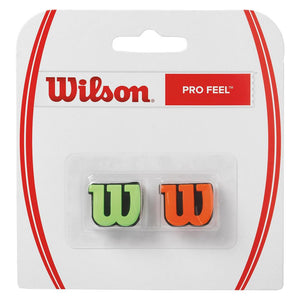 Wilson Pro Feel Dampener 2 Pack Green/Orange