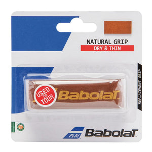 Babolat Natural Brown Leather Replacement Grip