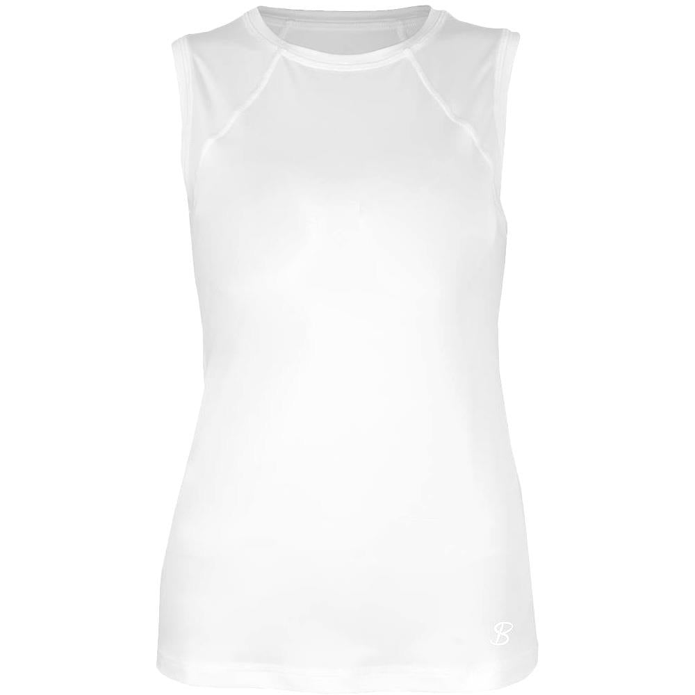 Sofibella Women's UV Staples Classic Core Tank White