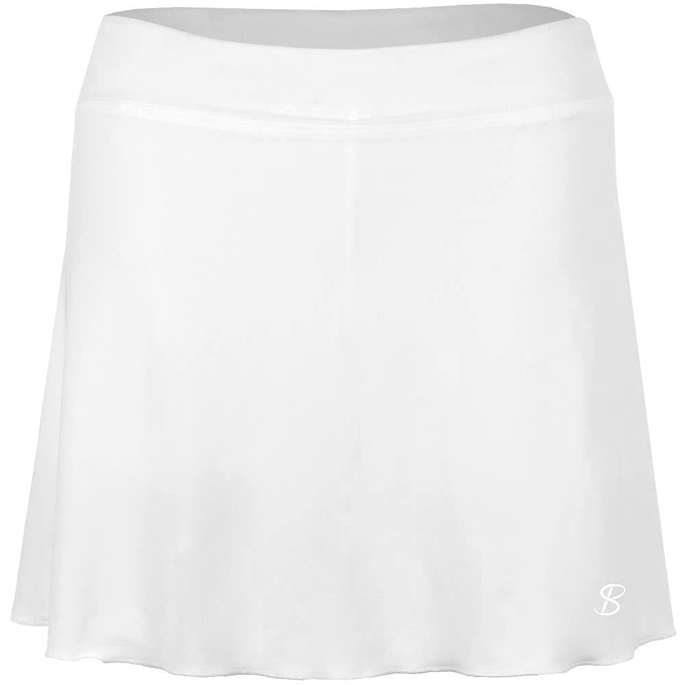 "Sofibella Women's UV Staples Classic 14"" Skort - White"