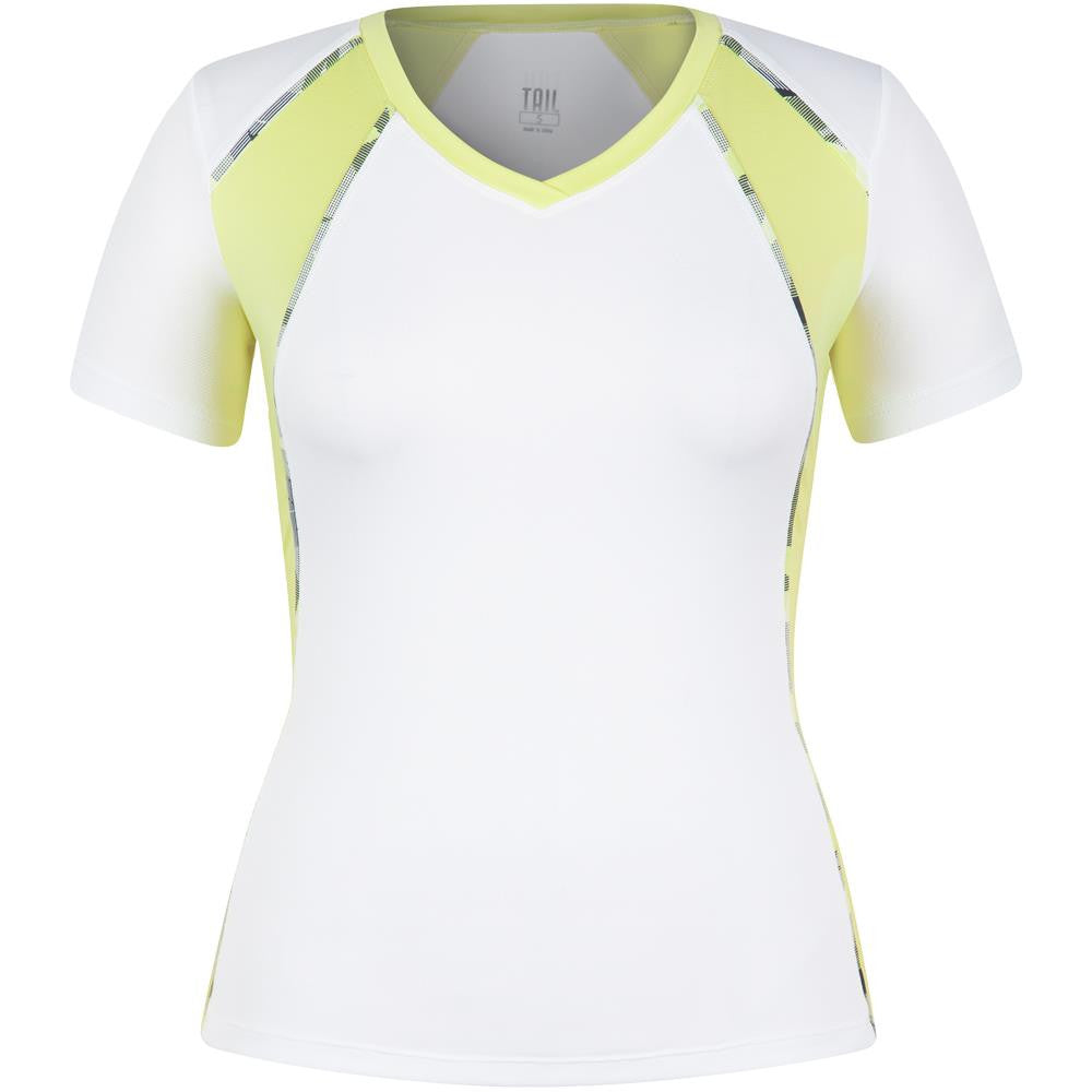 Tail Women's Palm Springs Maria Short Sleeve Top - White