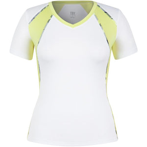 Tail Women's Palm Springs Maria Short Sleeve Top White