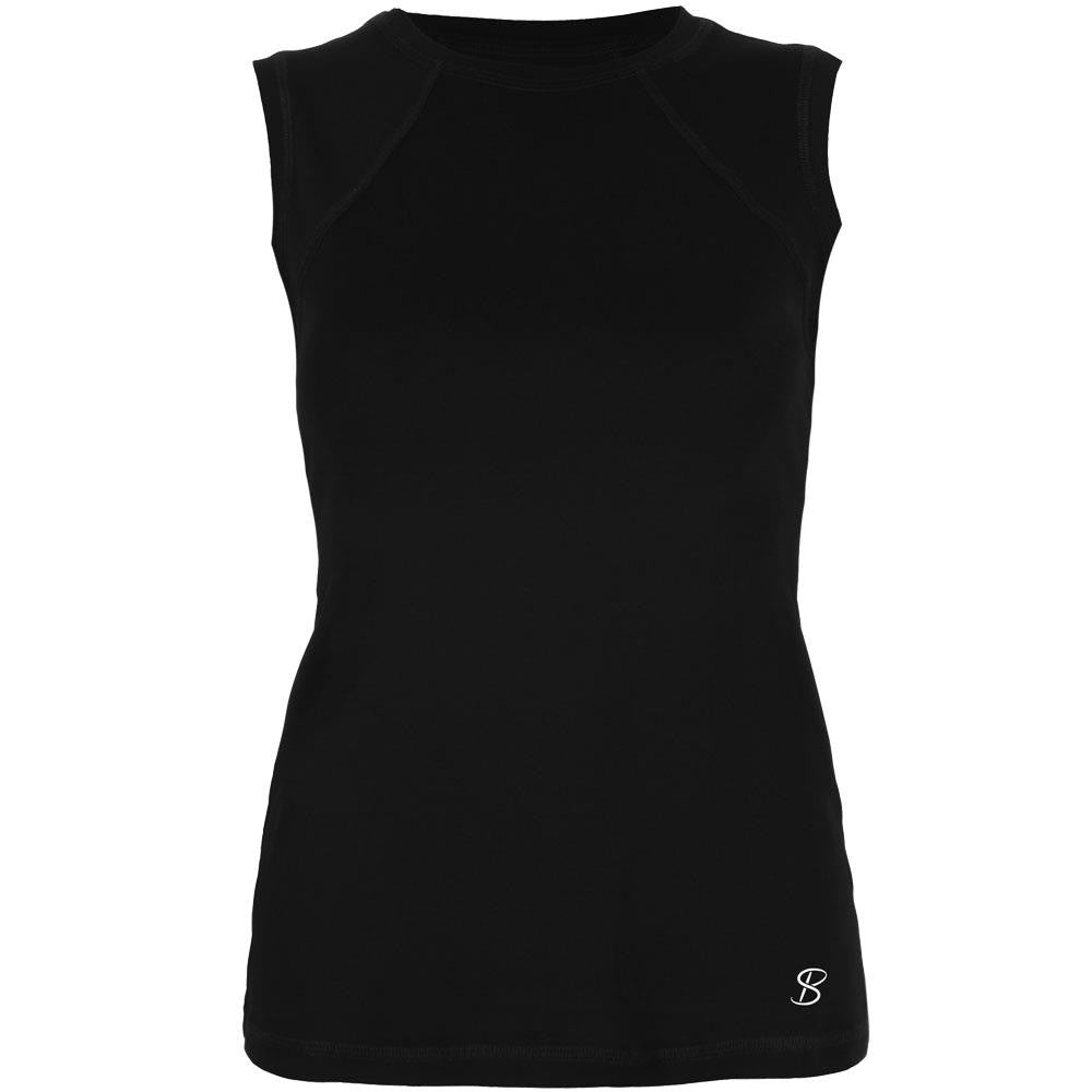 Sofibella Women's Core Classic Sleeveless Tank Black