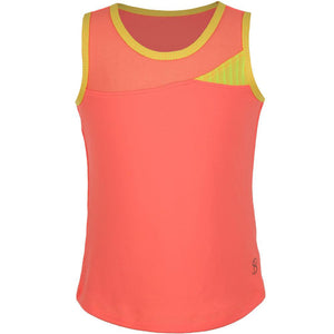 Sofibella Girls Checkmate Full Back Tank Sorbet
