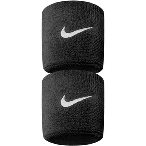 Nike Swoosh Wristband - 2 Pack - Black