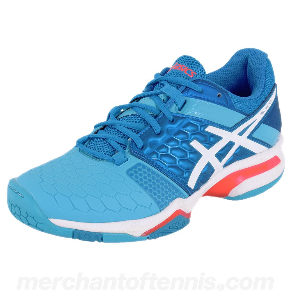 cfdab0cf320909 ... Junior Tennis Shoes · Junior Squash Shoes · Junior Pickleball Shoes ·  Junior Badminton Shoes. Asics Women's Gel-Blast 7 Blue/White