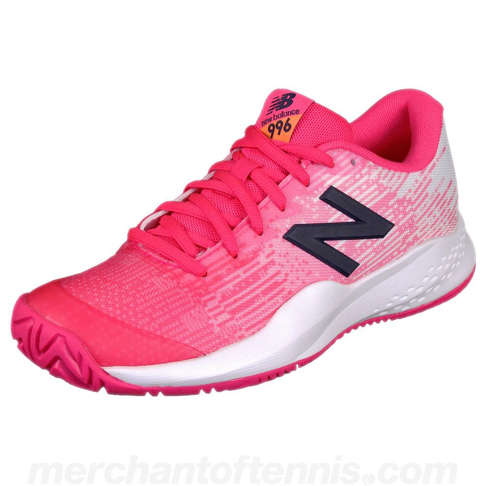 New Balance Junior Kc996v3 Pink/Navy