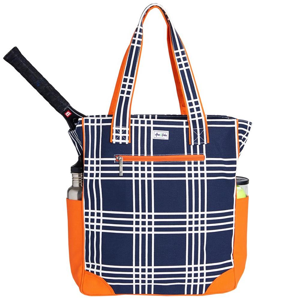 Ame & Lulu Emerson Abbey Plaid Tote