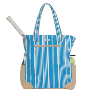 Ame & Lulu Emerson Ticking Stripe Tote Bag