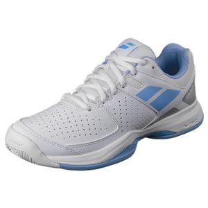 Babolat Women's Pulsion - AC - White / Blue