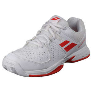 Babolat Junior Pulsion AC - White / Red