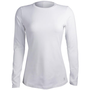 Sofibella Women's UV Colors Longsleeve Top - White