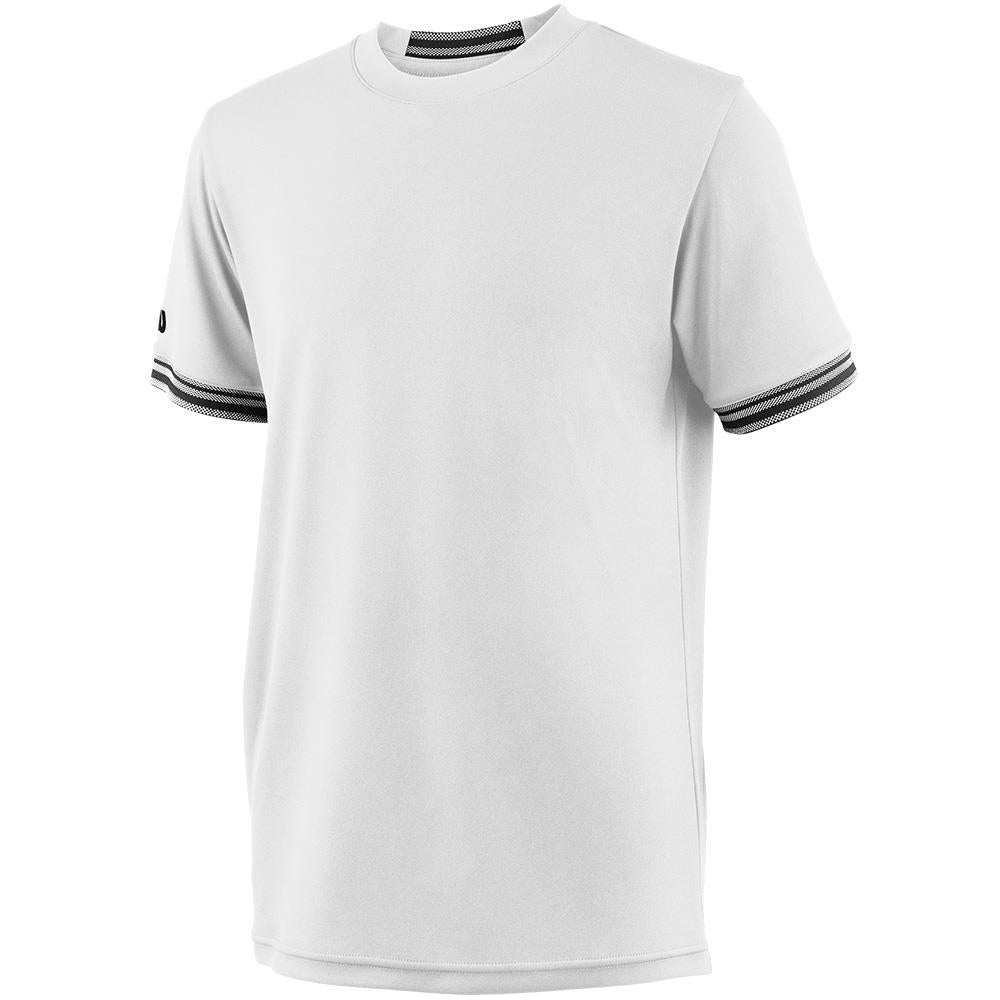 Wilson Boys Solid Team Crew - White