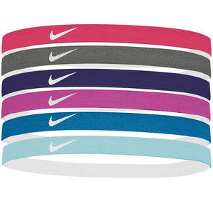 Nike Headbands Assorted 6 Pack - Habanero Red Mutli