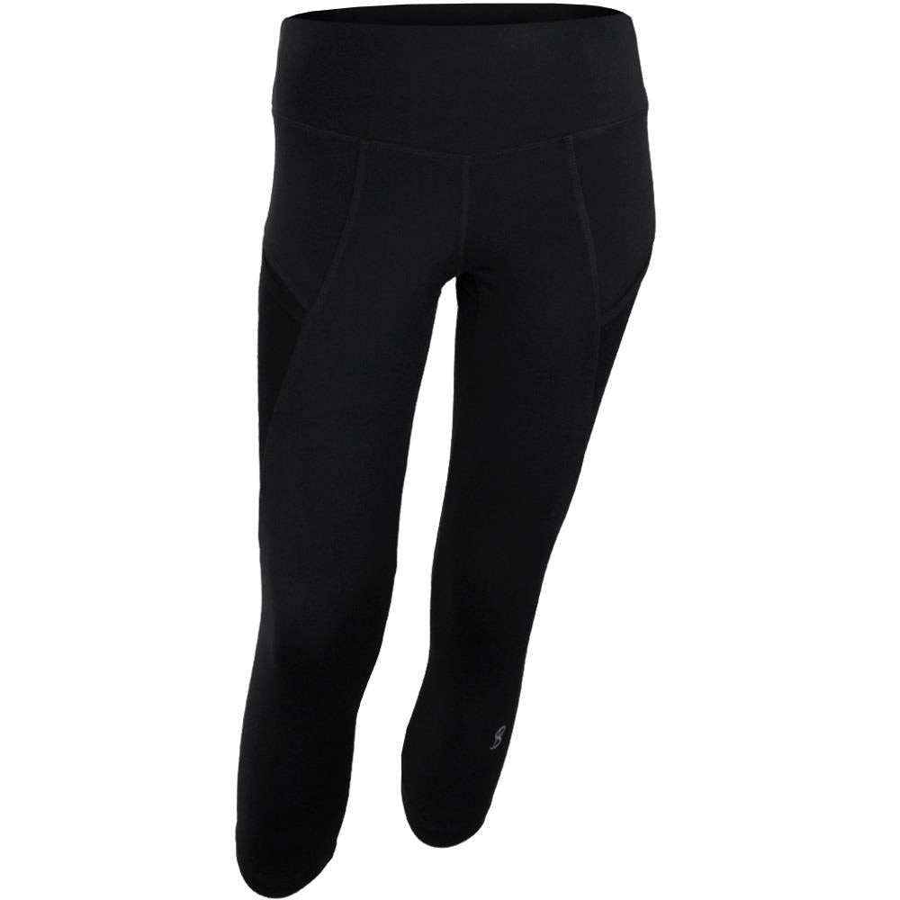 e89e9edc1f52a Sofibella Women's UV Staples Supplex Capri - Black – Merchant of Tennis
