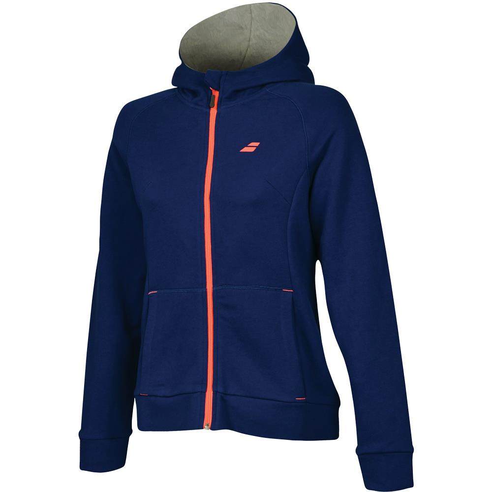Babolat Women's Core Zip Hoody - Estate Blue