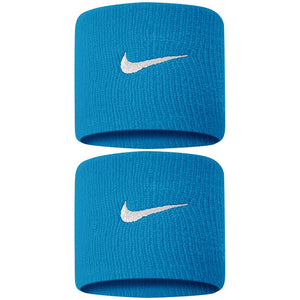 Nike Swoosh Premier DriFit Wristbands 2.0 - Neo Turquoise/Silver