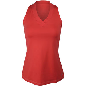 Sofibella Women's UV Colors Athletic Racerback Tank - Coral