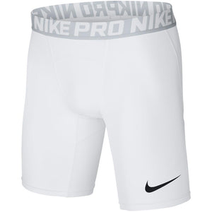Nike Men's Pro Compression Short - White