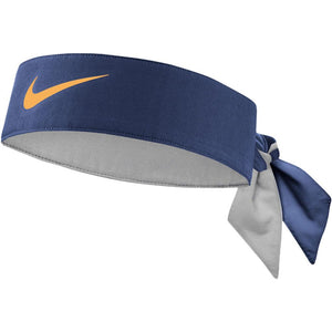 Nike Tennis Dry Tie - Blackened Blue/Orange Peel