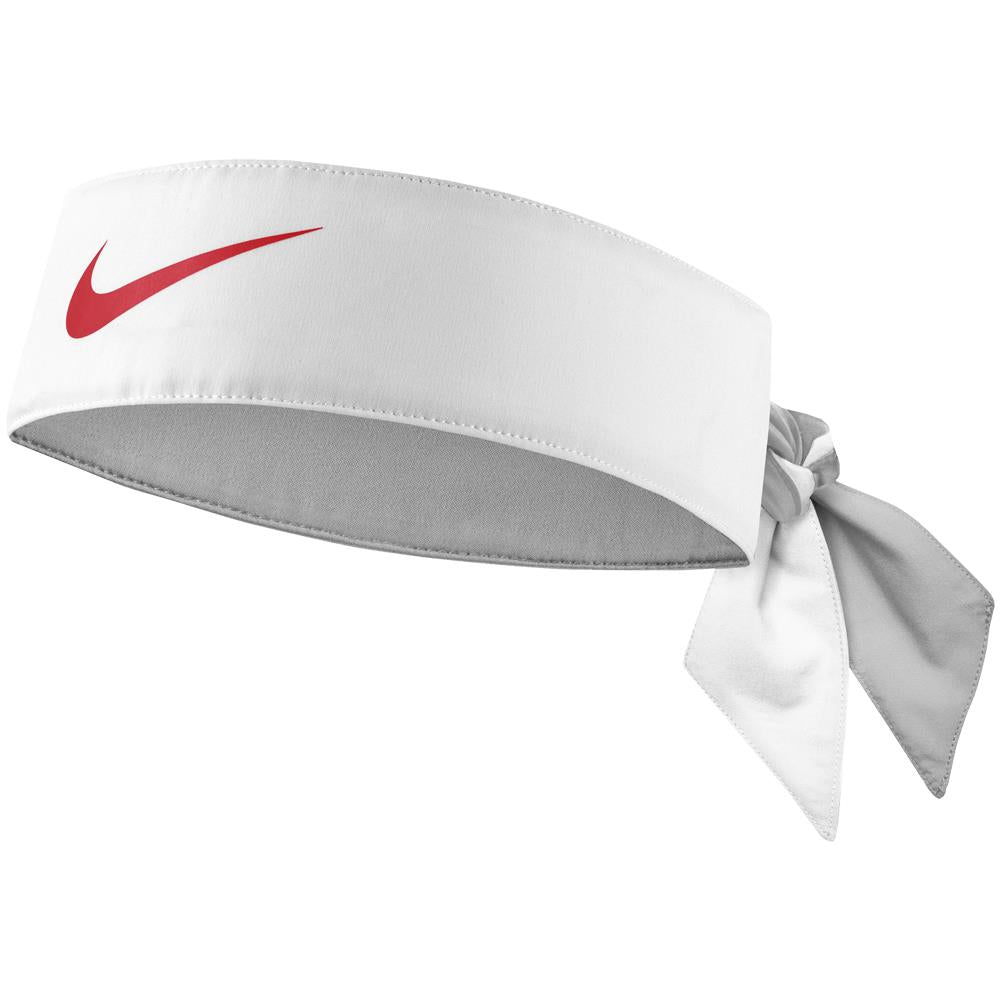 Nike Tennis Dry Tie - White/Habanero Red