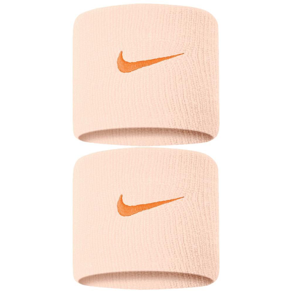 Nike Swoosh Premier DriFit Wristbands 2.0 - Guavalace/Orange Peel
