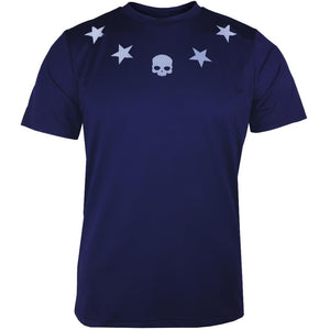Hydrogen Men's Reflex Star Tech Shirt - Navy