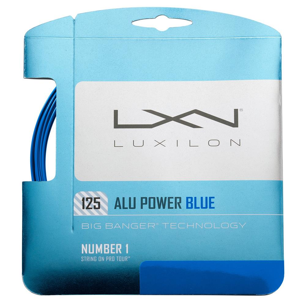Luxilon Alu Power 125 String Set - Blue