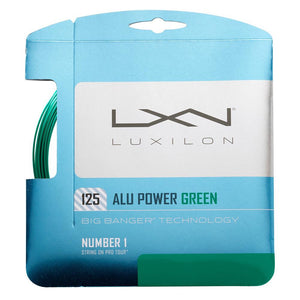 Luxilon Alu Power 125 String Set - Green