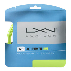 Luxilon Alu Power 125 String Set - Lime