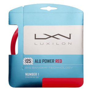 Luxilon Alu Power 125 String Set - Red