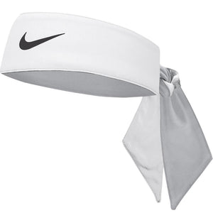 Nike DriFit Cooling Head Tie - White/Wolf Grey/Black