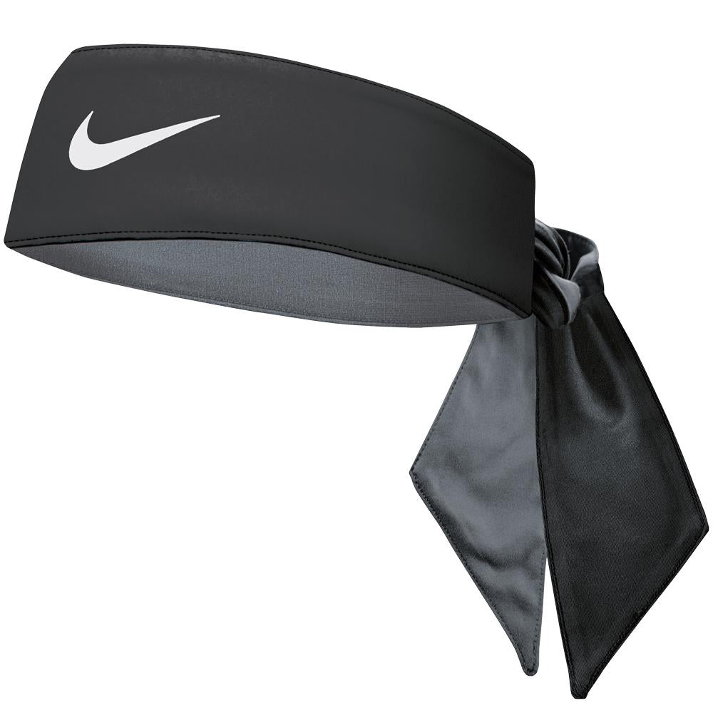 Nike DriFit Cooling Head Tie - Black/Cool Grey/ White