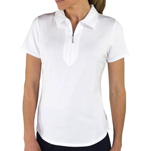 JoFit Women's Performance Polo - White