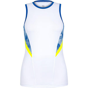 Tail Women's Lemon Tonic Nella Tank - White