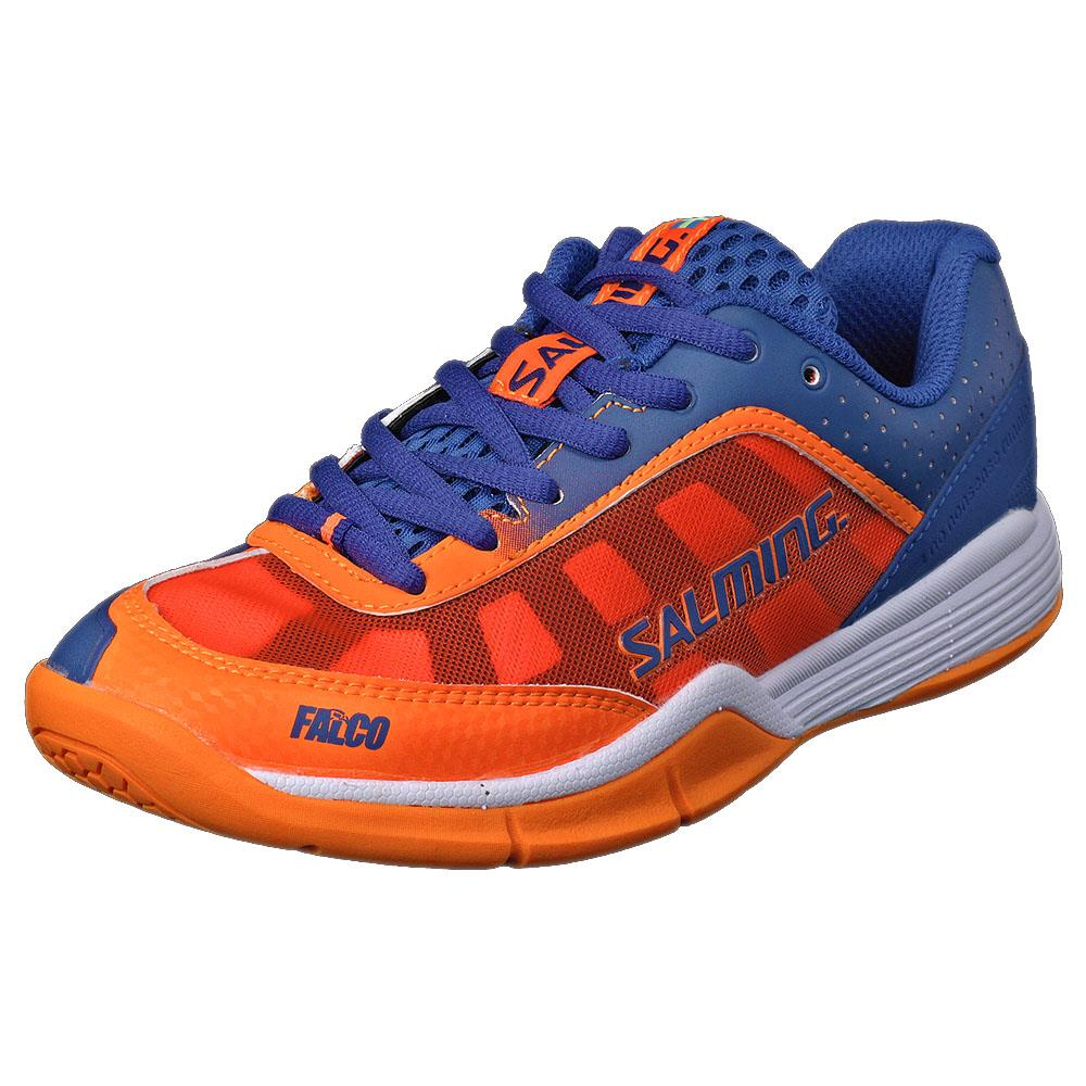 Salming Junior Falco Kid - Blue/Orange