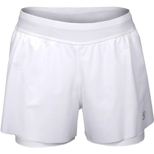 Sofibella Women's UV Staples Proton Short - White