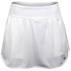 Lija Women's Blurred Lines Arista Skort - White
