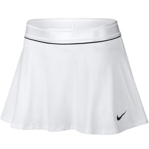 Nike Women's Flouncy Court Skirt - White/Black