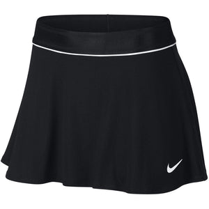 Nike Women's Court Flouncy Skirt - Black/White