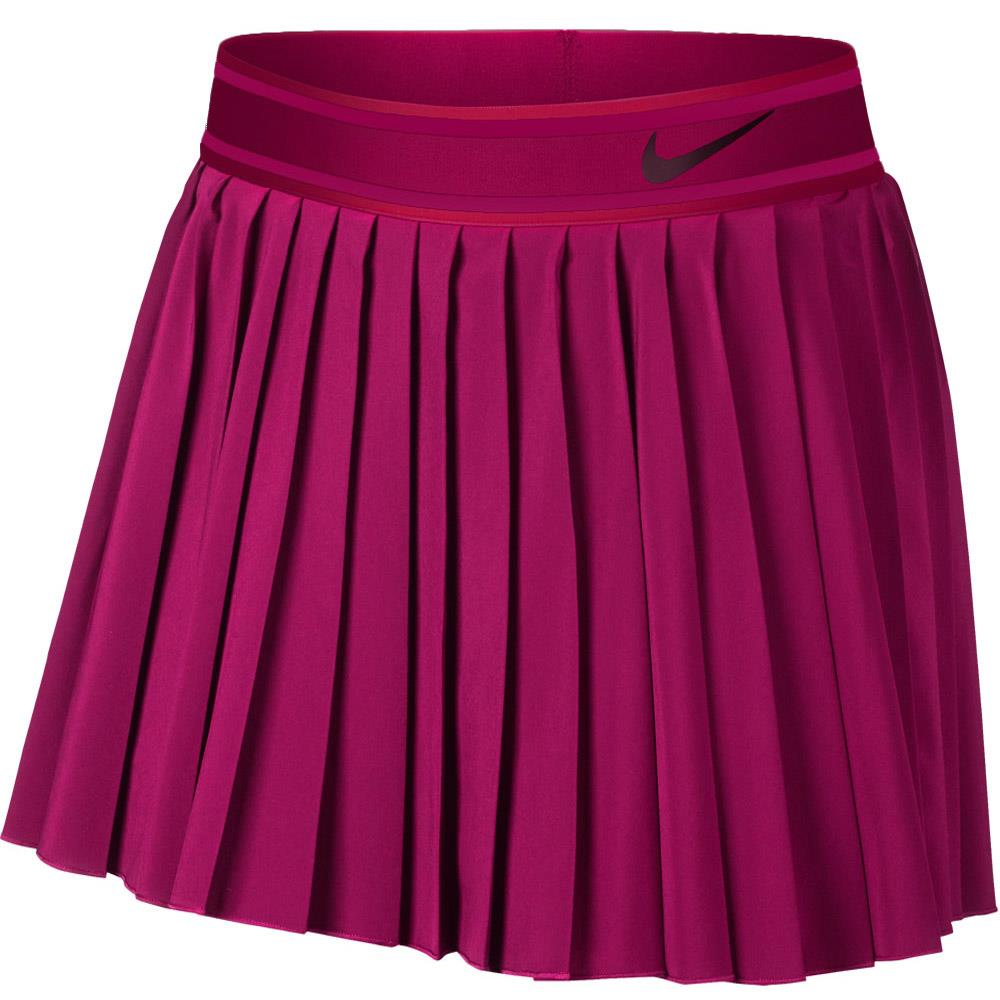 Nike Women's Victory Longer Length Skort - True Berry/Black